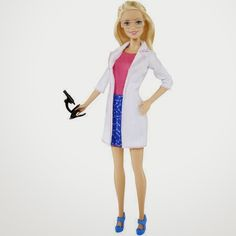 Barbie Goes Lab