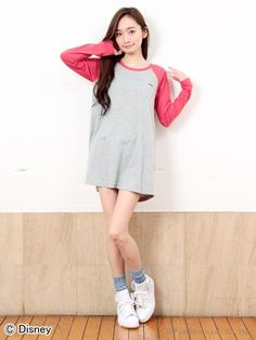 HAPPIER B/B TEE DRESS(カットワンピース) X-girl(エックスガール) calif(カリフ) B's INTERNATIONAL公式通販サイト