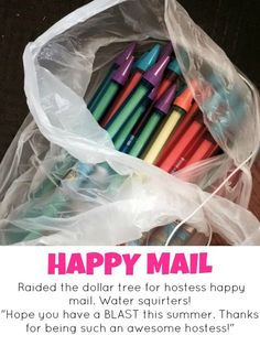 Hostess Happy mail for my favorite thirty one hostesses and customers. Something Katie Tijerina Thirty One Hostess, Thirty One Party, My Thirty One, Thirty One Gifts, Hostess Gifts, 31 Gifts, Team Gifts, Creative Gifts, Cool Gifts