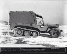 T-28 Litter Carrier tracked protoytpe from December 22, 1944