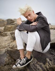 Lucky Blue Smith photographed by Dani Brubaker for Trendi Magazine S/S15 #malemodel #menswear