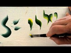 In this informative video, Donna Dewberry explains her signature One Stroke technique. Basic Painting, One Stroke Painting, Painting Videos, Painting Lessons, Tole Painting, Painting Tips, Painting Techniques, Art Lessons, Painting & Drawing