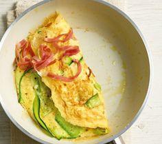 Low Carb Rezepte: Zucchini-Omelett