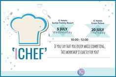 If you say that you #enjoy while competing, this workshop is exactly for you! Get ready to have a great #experience with our #master chefs with this #cooking workshop. We are leaving the materials to your creative hands. Surprising gift is awaiting for one of our guest who will make the best presentation and share the most professional photo with #IChef hashtag in social media! #workshop #ıchef #ichotels #joinus 🎊 😎 📷  👑 www.ichotels.com.tr