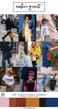 #StructuredBarrelBag #BarrelBag #StructuredBag #CylinderBag #Handbag #CircleHardware #MetalHandle #SS18 #SS2018 #SS19 #SS2019 #BagTrend #HandbagTrend #Trend #TrendForecaster #TrendForecasting #TrendAnalyst #TrendAnalysis #MicroTrend #MacroTrend #EmergingTrend #Accessories #Fashion #LadiesFashion #Style #StreetStyle #UrbanStyle #AmberGrant