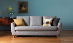 Szara kanapa w roli głównej – LEMONIZE.ME - Lovingit.pl