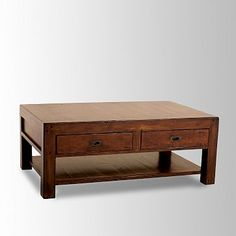 Library Coffee Table #westelm