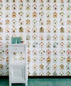 Birdhouse | Designers | Papel de parede dos anos 70