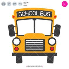 Clip Art Style School Bus with Replaceable Text Cartoon School Bus, Bus Cartoon, Student Cartoon, Bus Driver Gifts, School Bus Driver, School Buses, Magic School Bus, Diy Crafts To Do, Wheels On The Bus