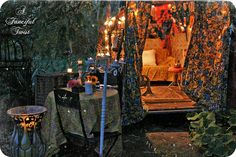 gypsy firelight 5 by A Fanciful Twist, via Flickr