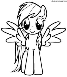 33 Best Coloring Pages Images In 2018 My Little Pony Coloring