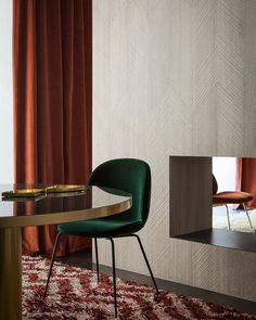 Hues of rusty red and emerald green create the perfect atmosphere at the…