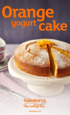 Make mum this zesty orange cake for Mothers Day. If you fancy a bit of baking, give this orange yogurt cake a go. This recipe can make 12 cupcakes if you prefer, and is great fun to make with the kids. Cupcake Recipes For Kids, Dessert Recipes, Food Cakes, Cupcake Cakes, 12 Cupcakes, Orange Yogurt, Lemon Yogurt, Sainsburys Recipes, Savoury Cake