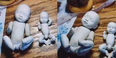 Изготовление кукол с Творческим Paperclay