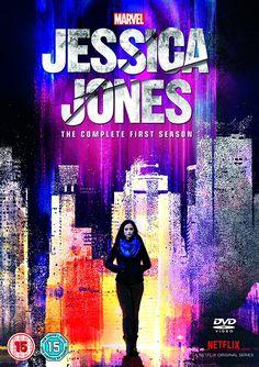 MARVEL'S JESSICA JONES: First Look At UK DVD & Blu-Ray Release Krysten Ritter stars as the eponymous former superhero as Marvel's Jessica Jones gets a DVD and Blu-ray release in the UK. David Tennant...