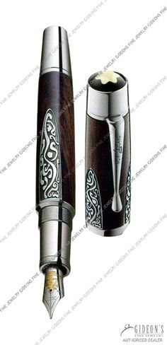 101180 Limited Edition Mont Blanc Patron of Art Alexander von Humboldt Fountain Pen - MontBlanc Pens