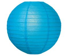 Paper Lantern Set - Medium Blue for $9.50 from The TomKat Studio Party Shop