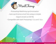 "Check out new work on my @Behance portfolio: ""Prestashop Mailchimp SYNC pro module""…"
