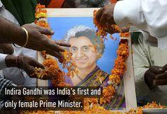 1. Indira Gandhi