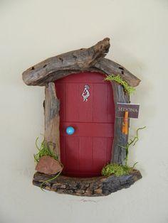 Kokopelli Sedona Fairy Door Made to Order by SedonaFairyDoors