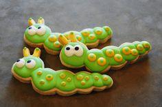 Wiggly Worm Cookies!  Sooo cute!