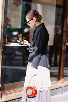 Paris Fashion Week AW 2015....Jenny