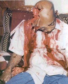 Muslims sprayed bullets on Prof. Muhari, a renowned Bangladeshi Hindu educationalist. (Source: Mukto-Mona)