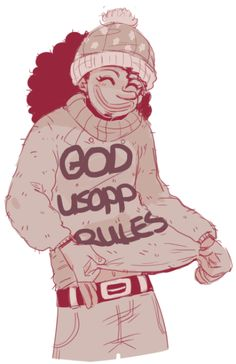 im cold so ill draw my faves in sweaters usopp made his himself One Piece Comic, One Piece Fanart, One Piece Anime, Funny Anime Pics, One Piece Pictures, One Peace, Best Waifu, Good Manga, Mobiles