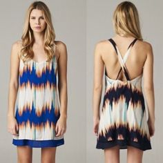 The CAMILLE tie dye Criss cross back dress-BLUE BOTTOM PRICE, NO FURTHER DISCOUNTIUnique tie die pattern. I only have the blue available. See pic 1. Super soft & comfy polyester dress. Criss cross back design. Make a splash with this stunner. Jaws are sure to drop! Get yours before it's all gone. BRAND NEW, no tags.‼️NO TRADE, PRICE FIRM‼️ NOT INCLUDED IN BOGO SALE Bellanblue Dresses