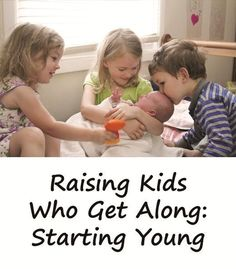 Raising Kids Who Get Along: Bringing Home a Younger Sibling - Mama Smiles