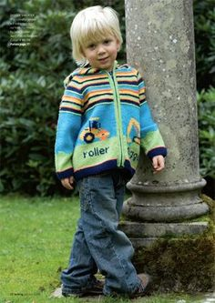 Digger sweater - Knitting Magazine - Crafts Institute