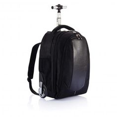 Swiss Peak Backpack Trolley :: Bags :: Pebble Promotions :: Form and Functionality. This backpack trolley combines high quality functionalty with designer looks. From trolley handle to wheels, this bag catches the eye. Registered design® Product Code: 18272 Dimensions: 310 x 240 x 448mm Swiss Peak Backpack Trolley Colours: black