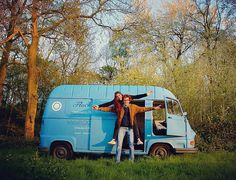 """VANLIFER OF THE DAY """"We have always dreamt to travel freely without anything to worry about taking our time to discover the surrounding world escaping from our boring daily life."""" @on_the_road_agaiin Hortense and Simon are two French dreamers. With great determination and love for the vintage vans they reached their vanlife goals. Read their short story in the Vanlife Magazine. Link in our bio.  - #VanlifeMagazine  @vanlife.magazine -  Vanlifers never give up on their dreams! Submit your…"""