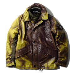 Fashion : Die Jacke mit Farbwechsel - Stone Island Ice Jacket aus thermochromatischem Gewebe