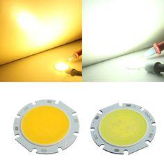 7W Round COB LED Bead Chips For Down Light Ceiling Lamp DC 16-24V