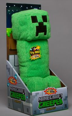 J!NX : Minecraft Creeper Plush Toy with Sound - Clothing Inspired by Video Games & Geek Culture