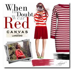 """""""Paint Your Look With Canvas by Lands' End: Contest Entry"""" by gabygrach ❤ liked on Polyvore featuring Lands' End, Canvas by Lands' End, fashionset, polyvoreeditorial, polyvorecontest, paintyourlook and youaretheartist"""