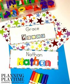 Name Worksheets for Preschool - Editable Name Printables #preschoolworksheets #nameworksheets #preschoolprintables #nametracing #backtoschool #planningplaytime Name Activities Preschool, Numbers Preschool, Preschool Printables, Preschool Worksheets, Hands On Activities, Back To School Worksheets, Name Tracing Worksheets, Picture Cards, Learning Through Play