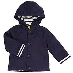 Buy John Lewis Baby Wadded Jacket, Navy Online at johnlewis.com