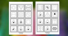 Pexeso dopravné značky pre deti vo forme omaľovánky na vyfarbenie.