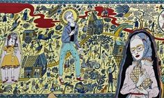 Provincial Punk at the Turner Contemporary Margate Grayson Perry, The Walthamstow Tapestry (2009)