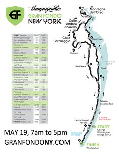 Course The total ride distance is 105miles/170k and the elevation gain is approx. 7,000ft/2,200m.