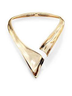 Alexis Bittar - Liquid Hinged Collar Necklace