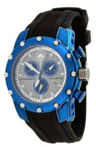 Corvette #CR281-CIPBL Men's Stingray Series Black Silicone Strap Chronograpgh Watch Corvette. $219.95. Case Size:  45mm Diameter, 13mm Thickness. Water Resistant - 100M, Screw Down Crown, Officially Licensed GM Porduct. Stainless Steel Case with Soft Black Silicone Strap. Precise Swiss Quartz Movement. Sapphire Crystal, Day/Date Display, Carbon Fiber Dial, Chronograph Function. Save 60% Off!
