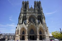Here in Reims Cathedral, many of the great early kings of France had their coronations, with a certain Saint Joan of Arc in attendance at one such ceremony.