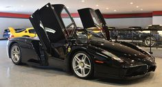 Gloss Black Ferrari Enzo Is A True Automotive Unicorn
