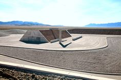"Michael Heizer's ""City: Complex One, 1972-74."" Credit Tom Vinetz"