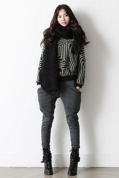 Labyrith-like design and huge pants pockets.