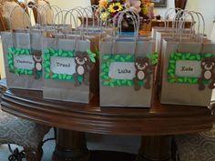 monkey party favor bags