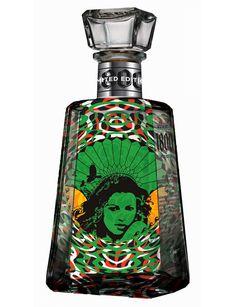 Curating the very best packaging design Tequila Bottles, Alcohol Bottles, Liquor Bottles, Tequila 1800, Top Tequila, Drink Labels, Beer Labels, Bottle Labels, Distilled Beverage